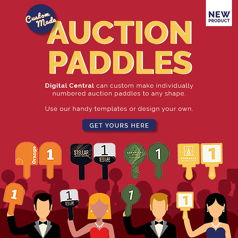 Real Estate Auction Paddles